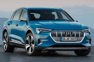 Elektrické Audi e-tron.