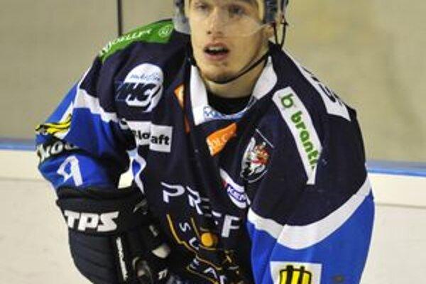 Jaroslav Markovi sa po zranení vrátil do martinskej zostavy. Začal v treťom útoku.