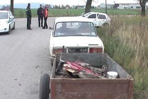 Vozil sa na nej mesiac. Dolnoštubňan vraj kradnutú Ladu kúpil. Vozil sa však na nej bez vodičského.