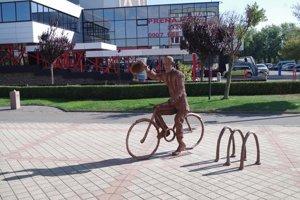 Nová socha v centre mesta.