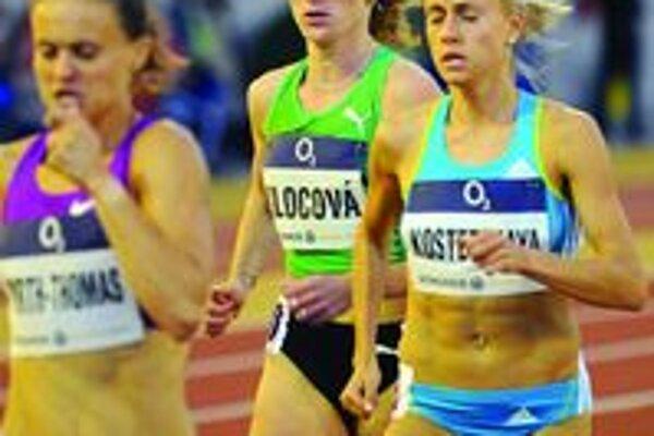 Lucia Klocová - martinská atlétka sa najprv predstavila na pretekoch v Ostrave, potom v Hengele.
