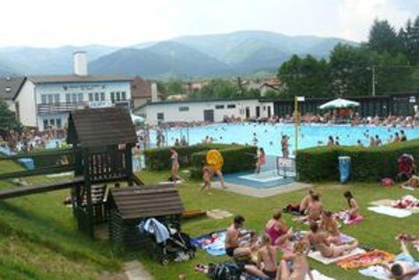 Kúpalisko vo Vrútkach býva v Turci najnavštevovanejšie.