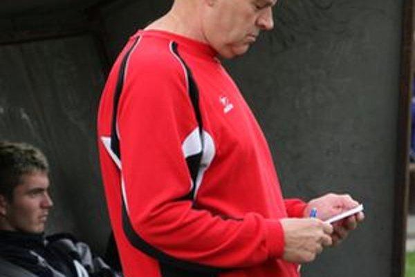 Tréner Pavol Pronaj má nad čím premýšľať.