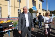 Minister dopravy Árpád Érsek dnes v Šahách predstavil  obnovenie vlakovej linky do Zvolena.