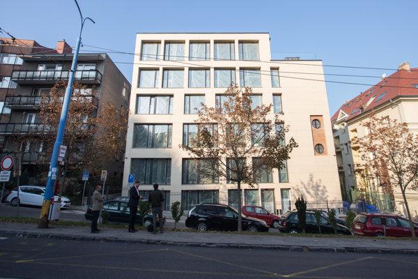 Objekt bytového domu Palisády 5.