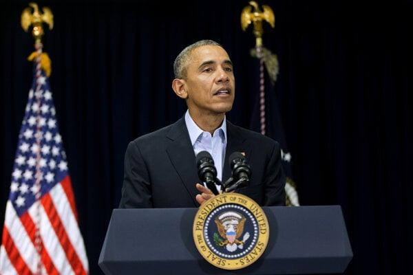 Barack Obama hovorí o smrtí sudcu amerického Najvyššieho súdu.