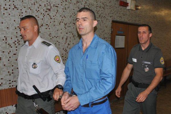 Daniel Jancusko v pondelok na okresnom súde.