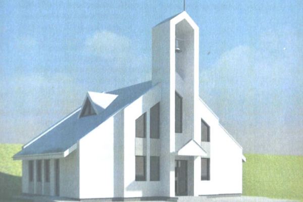 Takto bude vyzerať nový Kostol Nanebovstúpenia Pána vKomjatnej – Studničnej.