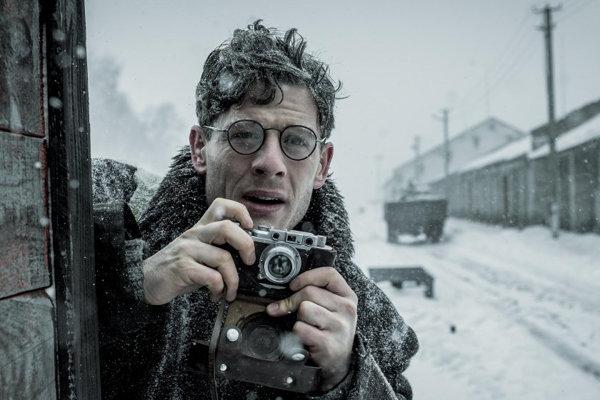 Záber z filmu Gareth Jones.