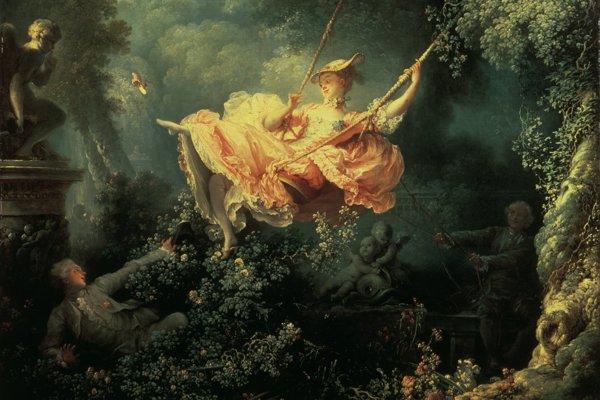 Jean Honoré Fragonard: Hojdačka, 1767