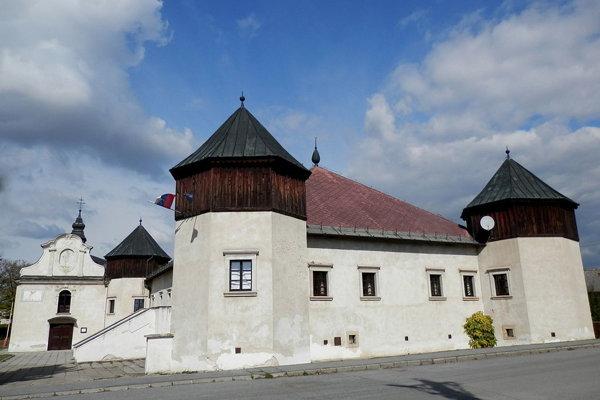 Kaštieľ Šarišské Michaľany-