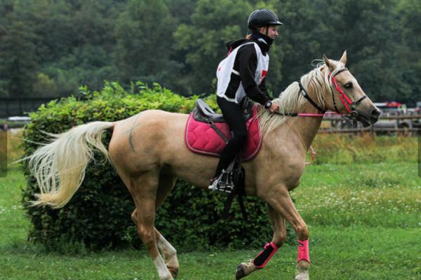 Sú na to dve. Natália Sobolová aj jej kobyla Kora ukazujú už v mladom veku veľký potenciál.