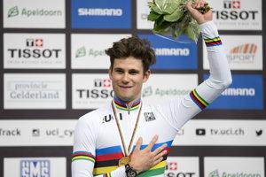 Taliansky cyklista Filippo Ganna.