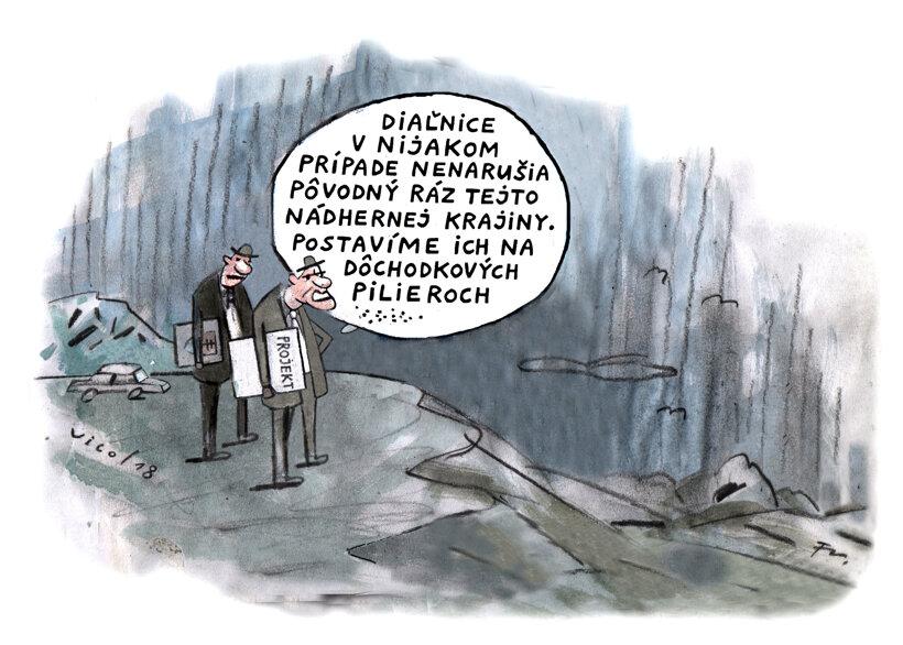 Na pilieroch (Vico) 19. október