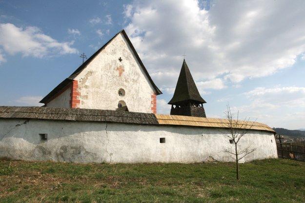 Kostolík sv. Martina v Čeríne patrí medzi najkrajšie v regióne.