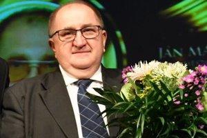 Ocenený bývalý primátor mesta Ján Madáč.