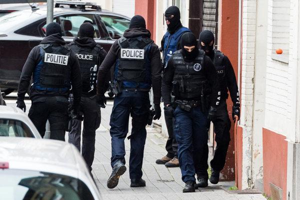Belgická polícia.