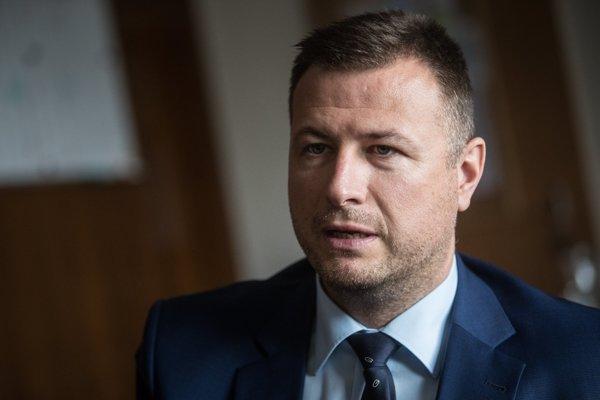 Minister spravodlivosti SR Gábor Gál.