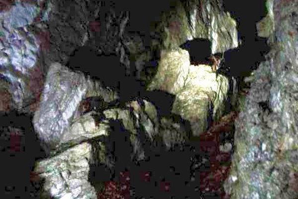 Schovali sa medzi skalami.