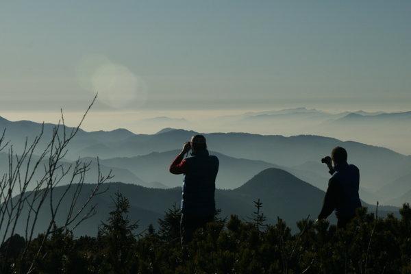 Výhľad z Choča je jeden z najkrajších.