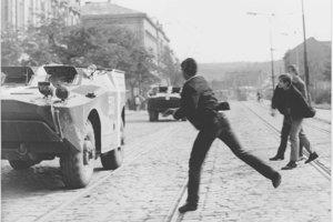 Ilustračné foto z augusta 1968.