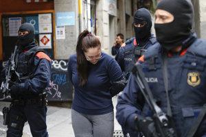 Protidrogová razia v Barcelone