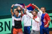 Slovenskí tenisti.