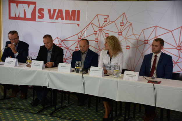 V diskusii MY S VAMI vystúpili piati kandidáti a kandidátka na primátora Žiliny.