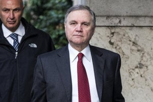 Šéf talianskej centrálnej banky Ignazio Visco.