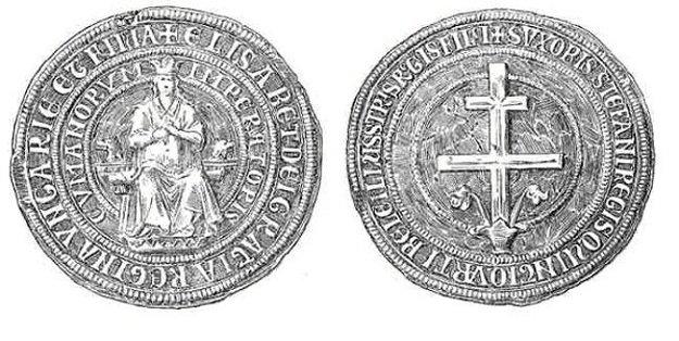 Ladislavova kráľovská pečať.