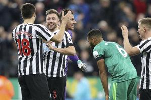 Futbalisti Newcastle oslavovali prvé víťazstvo v sezóne.