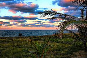 Pláž Varadero na Kube.