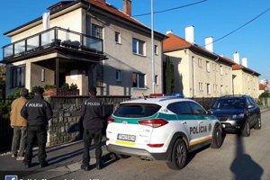 Policajná akcia v Trenčíne