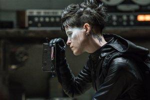 Claire Foy ako Lisbeth Salander.