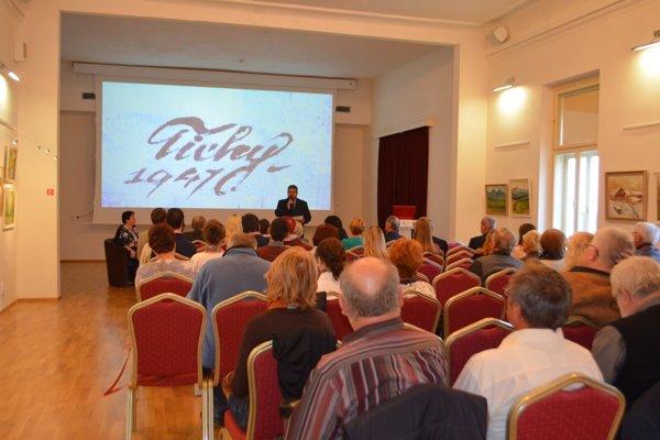 Z konferencie. FOTO: BANÍCKE MÚZEUM V ROŽŇAVE