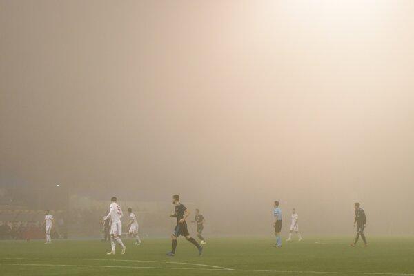Momentka zo zápasu Dinamo Záhreb - Spartak Trnava.