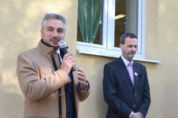 Rastislav Trnka (vľavo) a Zsolt Lukács.