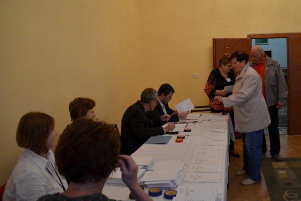 Komunálne voľby v Betliari. FOTO: PP