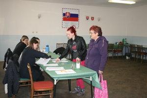 Voľby v Harakovciach.