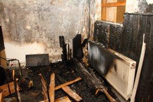 Požiar spôsobil detskému domovu tisícové škody.