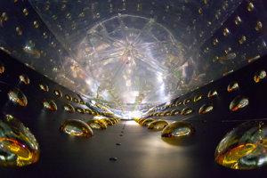 Detektor na zachytávanie neutrín Daya Bay v Číne.