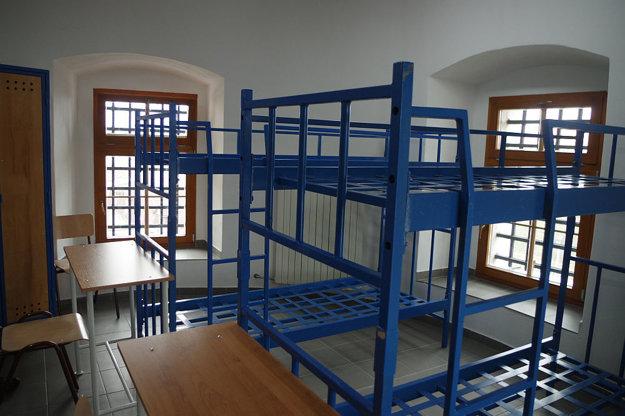 Nová izba v zrekonštruovanej bašte.