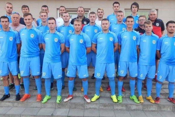Futbalisti Kráľovského Chlmca.