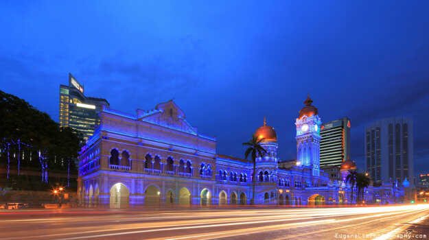 Budova Sultána Abdul Samada, Kuala Lumpur, Malajzia