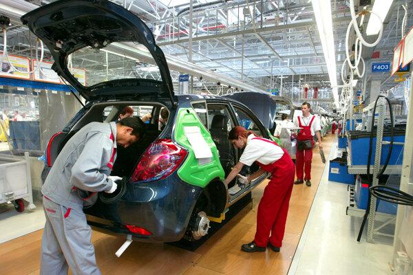 Zamestnanosť v Žilinskom kraji ťahá automobilový priemysel.