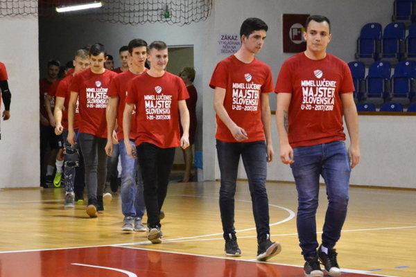 Ilustračné foto. Hráči Mimelu Lučenec U20.