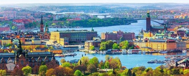 Štokholm, Švédsko.