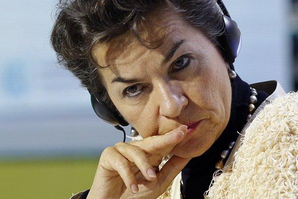 Šéfka sekretariátu OSN pre klimatické zmeny Christiana Figueresová.