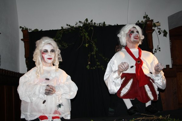 Strašidelný festival divákov prilákal na bojnický zámok aj vlani.