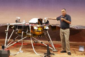 Predstavenie sondy InSight.